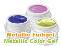 Metallic UV Farbgel